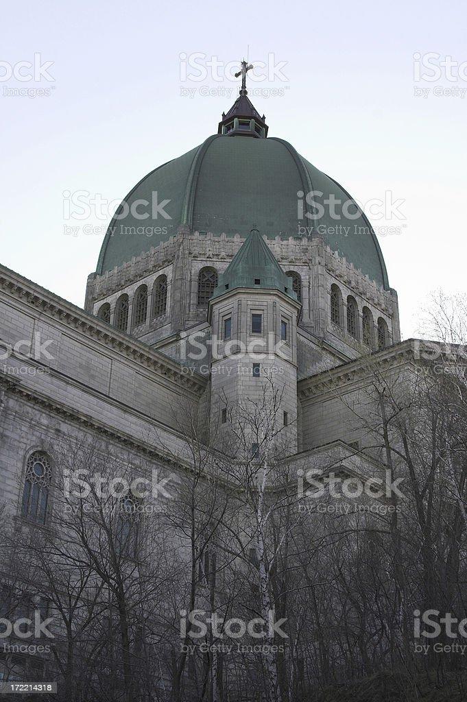 Saint Joseph's Oratory of Mount Royal stock photo