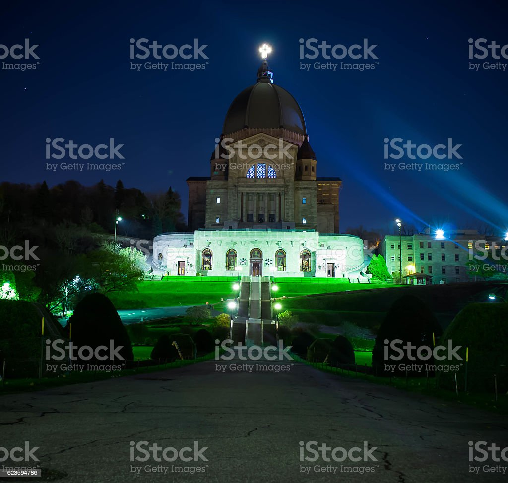 Saint Joseph's Oratory of Mount Royal stock photo