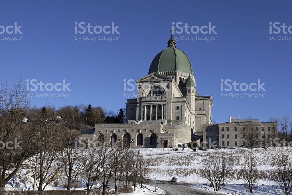 Saint Joseph's Oratory stock photo