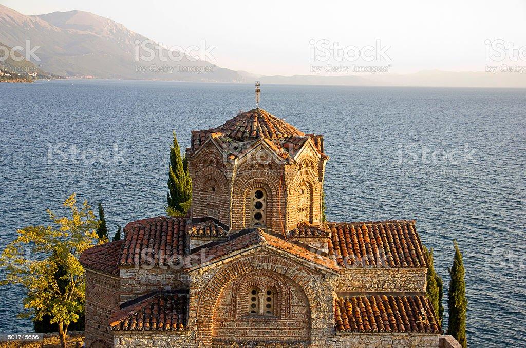 Saint Jovan Kaneo Church stock photo