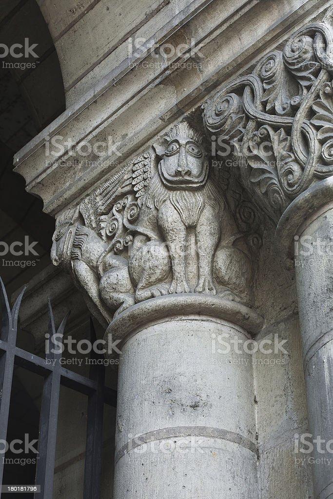 Saint Julien church royalty-free stock photo