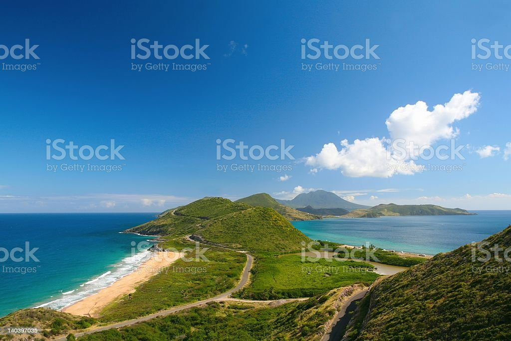 Saint Kitts and Nevis royalty-free stock photo