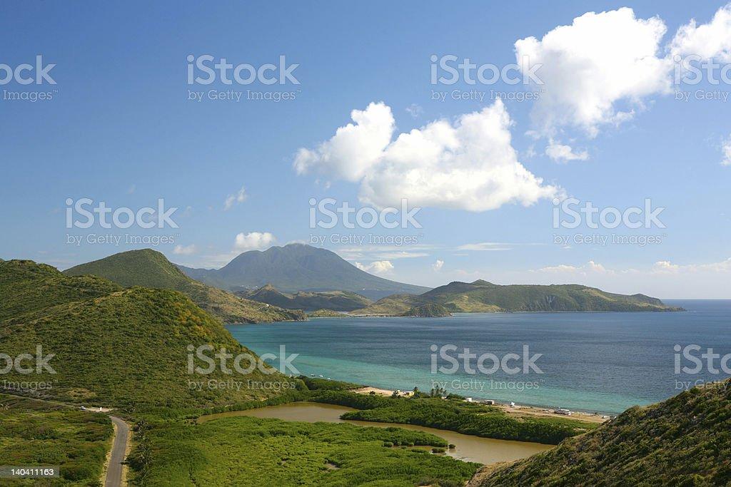 Saint Kitts and Nevis stock photo