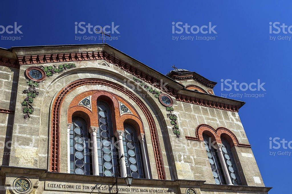 Saint Kyriaki Church royalty-free stock photo