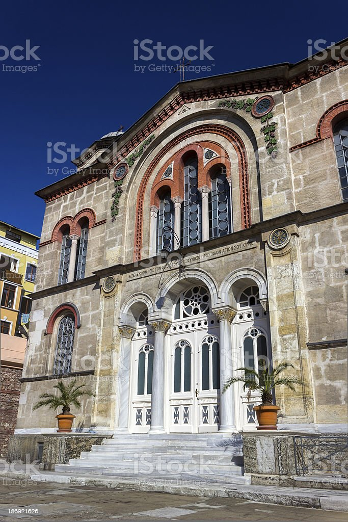 Saint Kyriaki Church royalty-free stock photo
