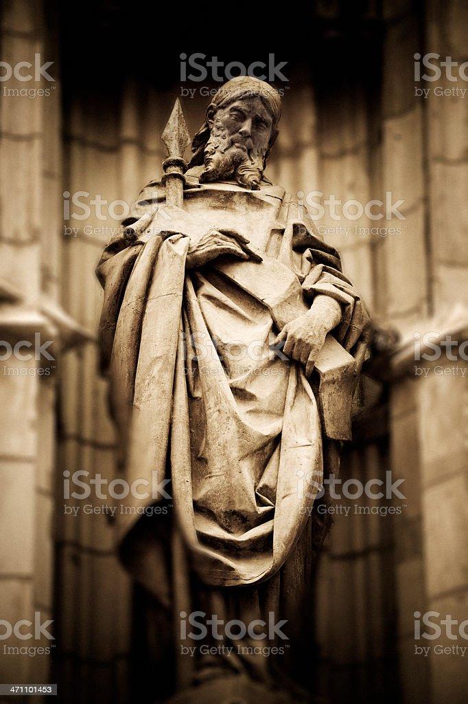 Saint Longinus royalty-free stock photo