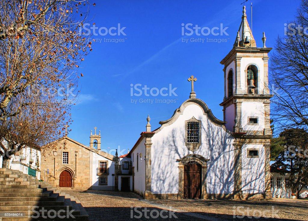 Saint Louis church in Pinhel stock photo