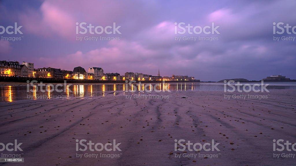 Saint Malo, France stock photo