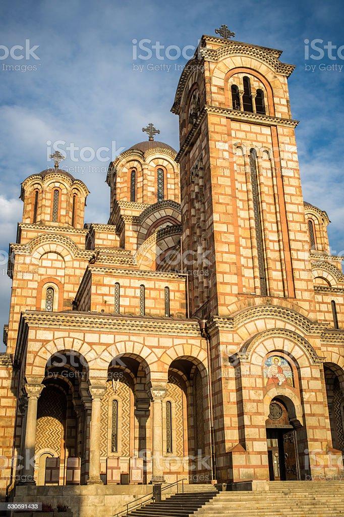 Saint Marko Church - Belgrade, Serbia stock photo