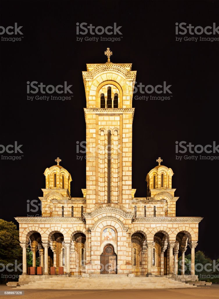 Saint Marko Church stock photo