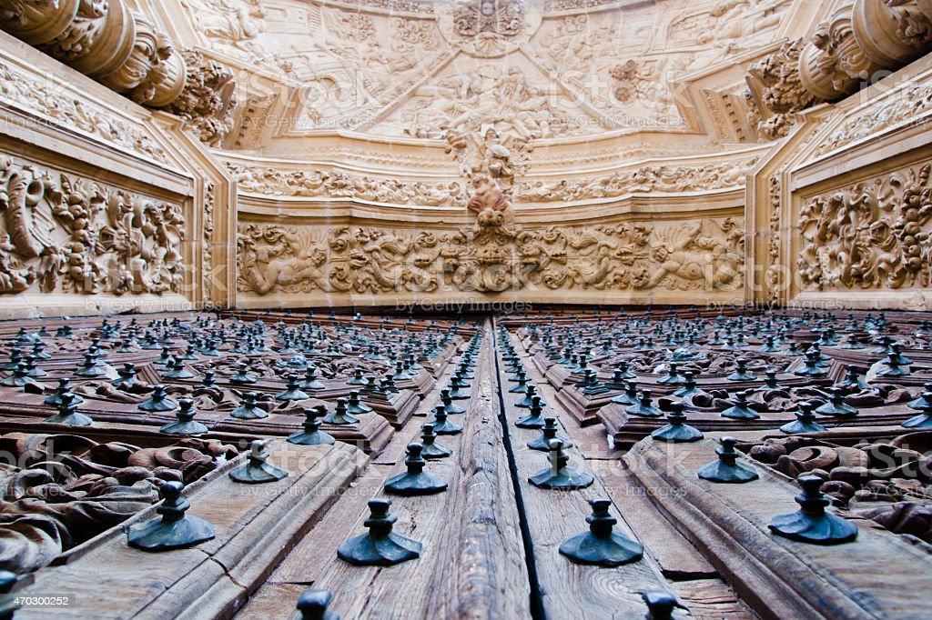 Saint Mary Cathedal of Astorga. Spain stock photo