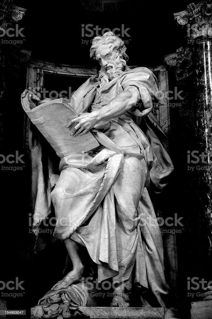 Saint Matthew Apostle stock photo