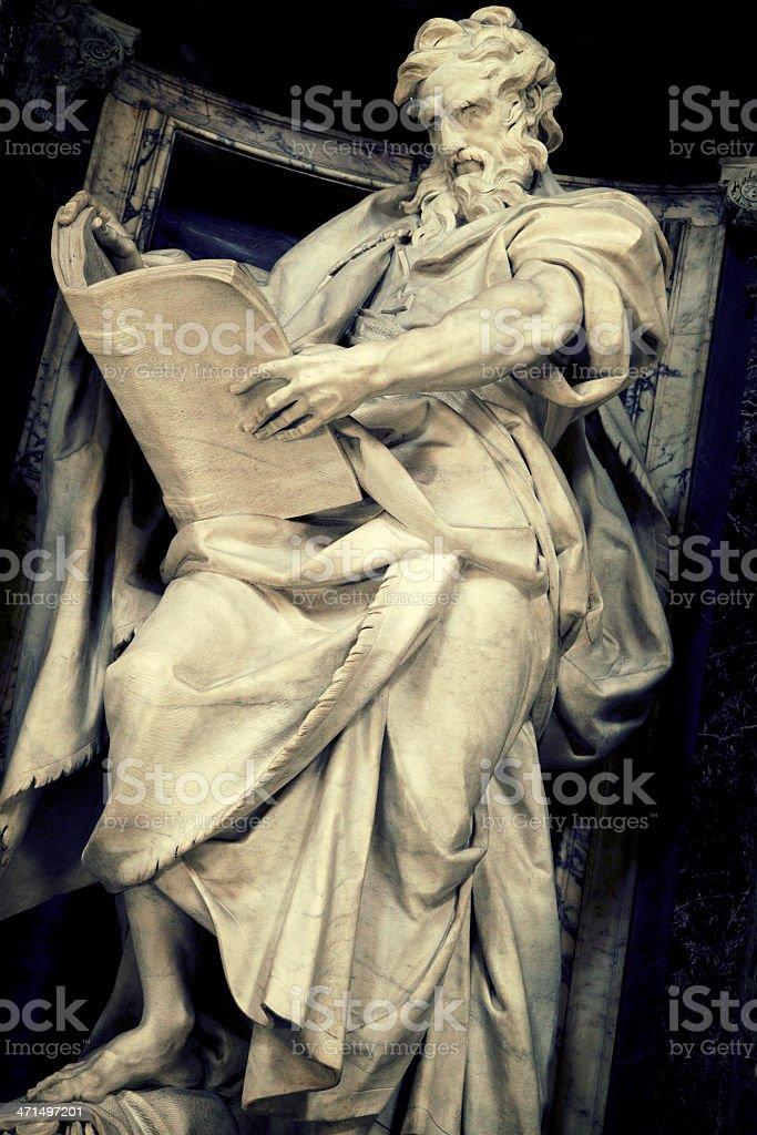 Saint Matthew Apostle royalty-free stock photo