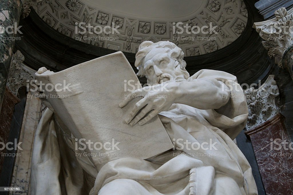 Saint Matthew stock photo
