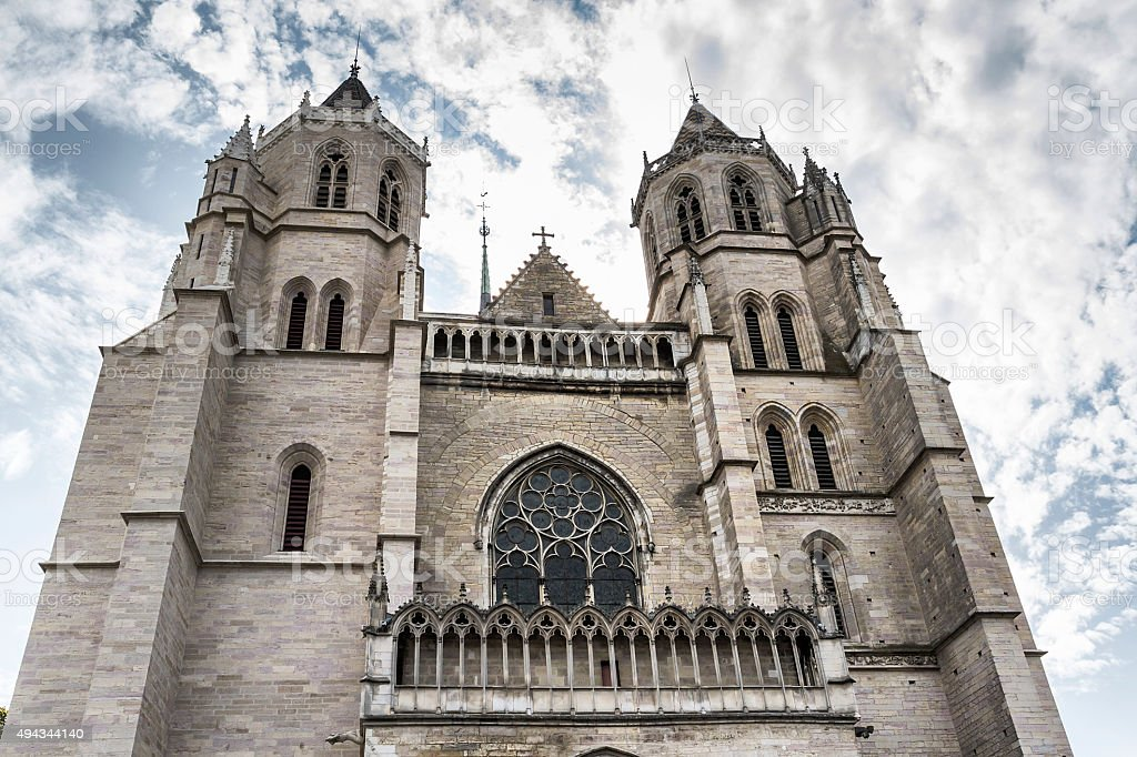 Saint Michel Church - Dijon - France stock photo