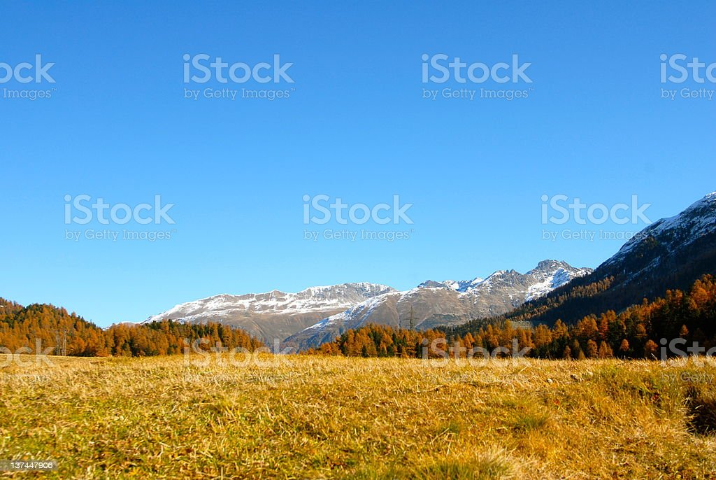 Saint Moritz royalty-free stock photo