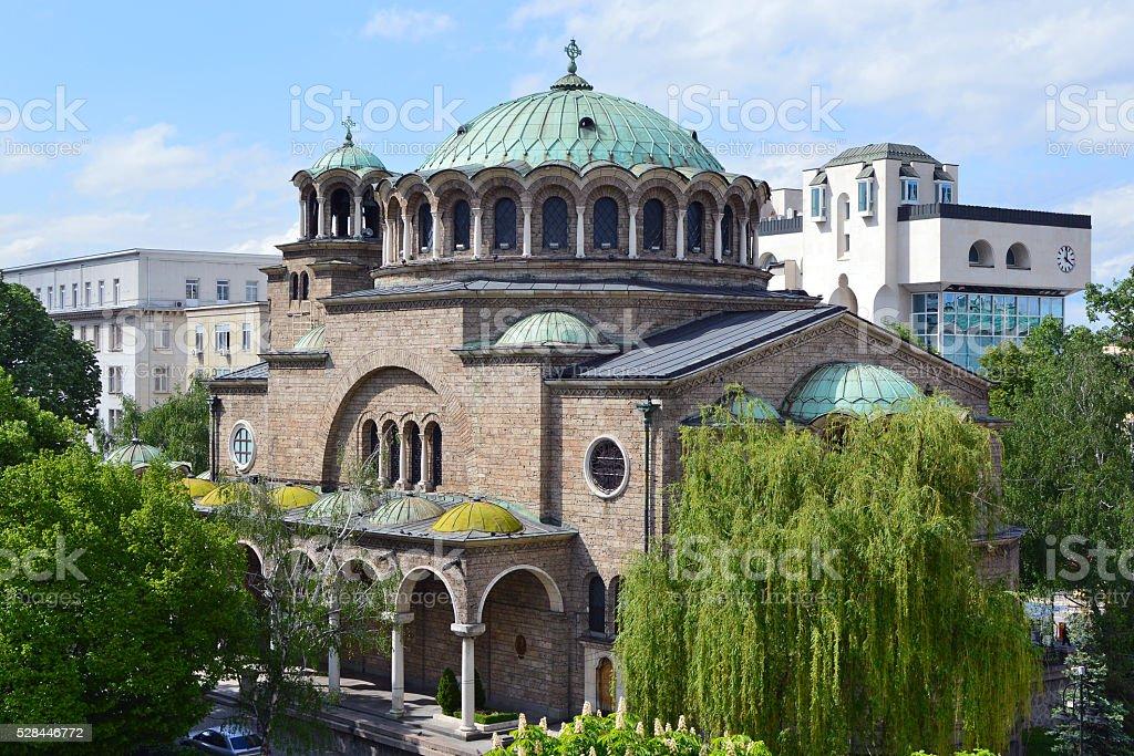 Saint Nedelya Church stock photo