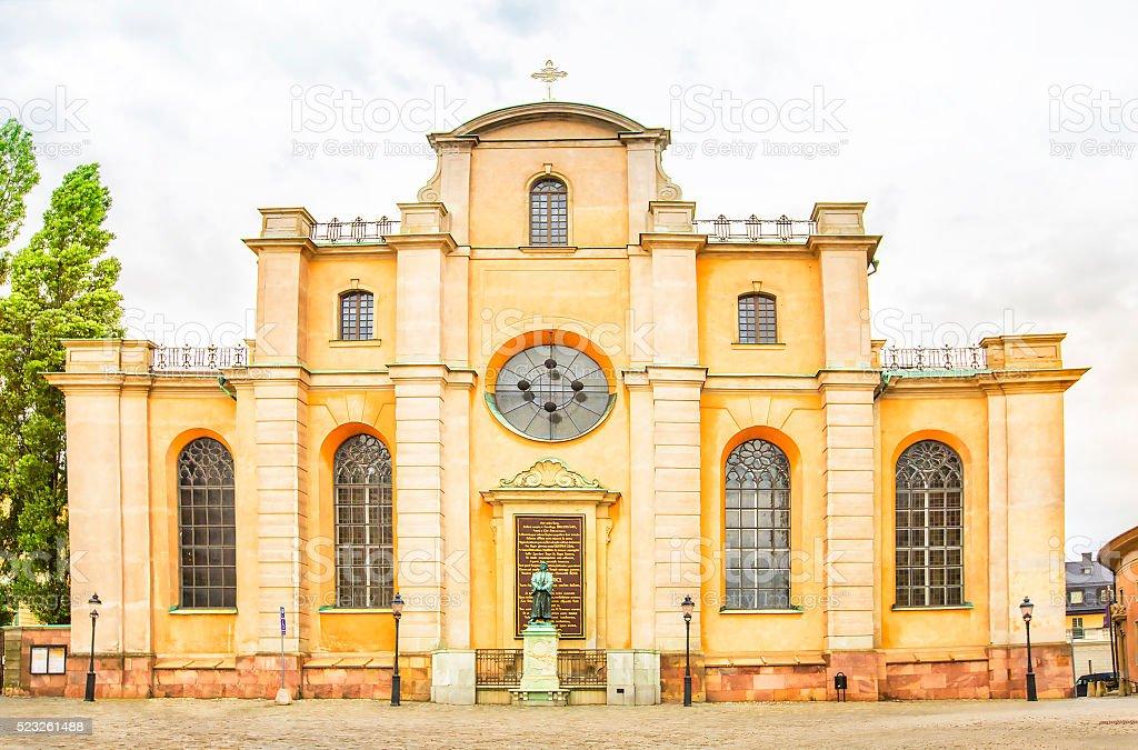 Saint Nicholas church, Galma stan, Old town of Stockholm, Sweden stock photo