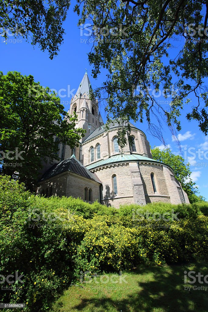 Saint Nicholas Church, Orebro stock photo