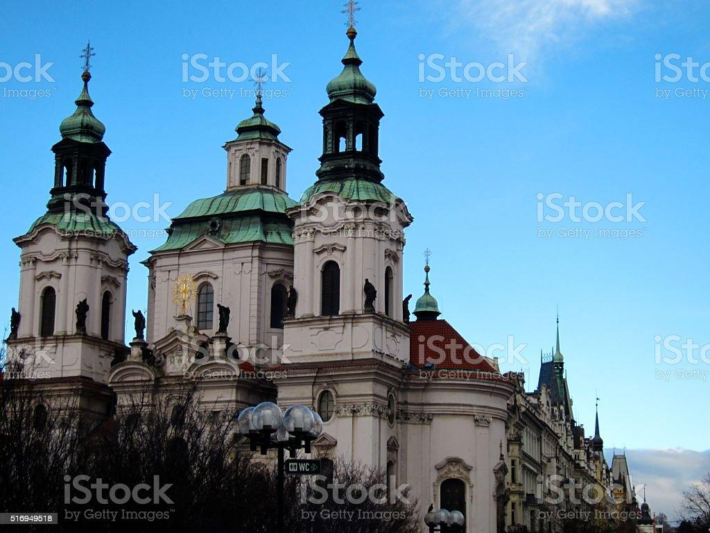 Saint Nicholas Church stock photo