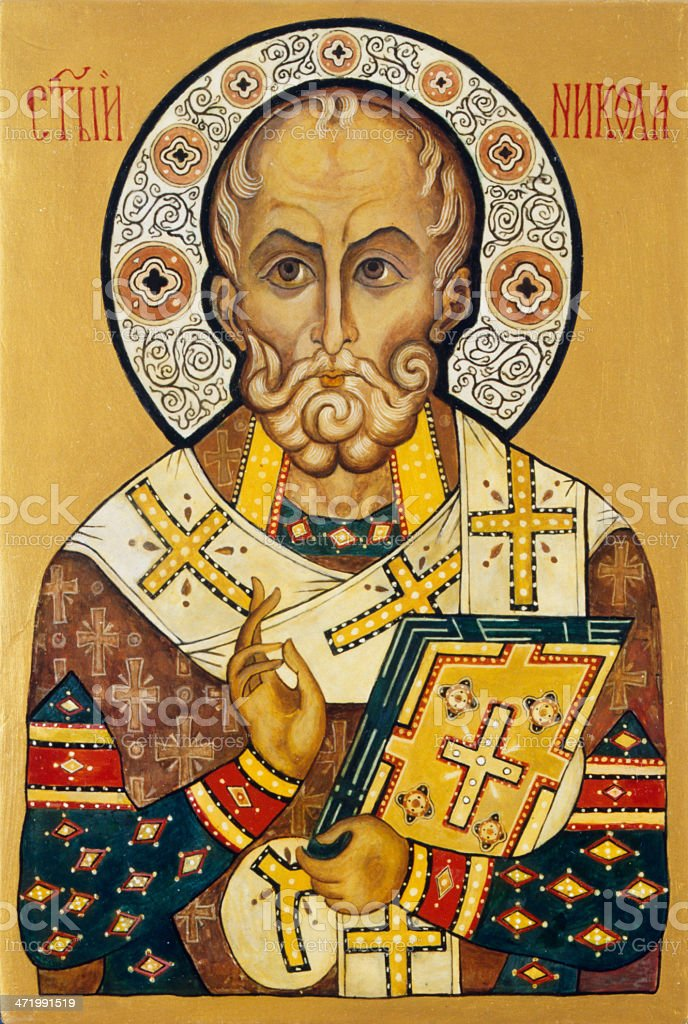 Saint Nicholas stock photo
