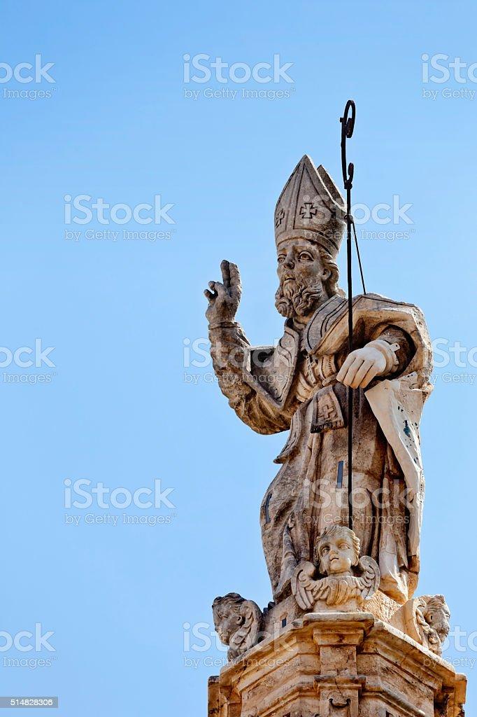 Saint Oronzo Ostuni stock photo