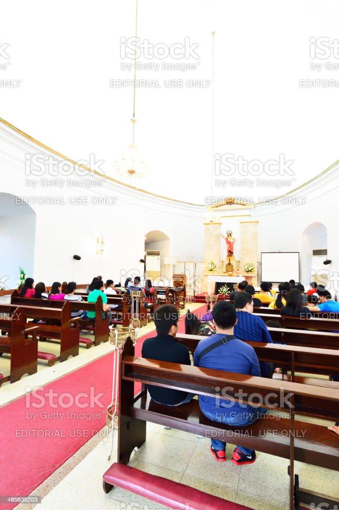 Saint Pancratius Chapel, Manila, Philippines stock photo