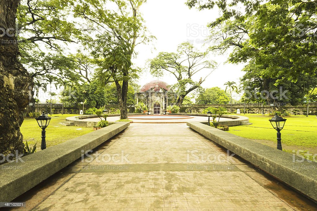 Saint Pancratius Chapel, Manila, Philippines royalty-free stock photo