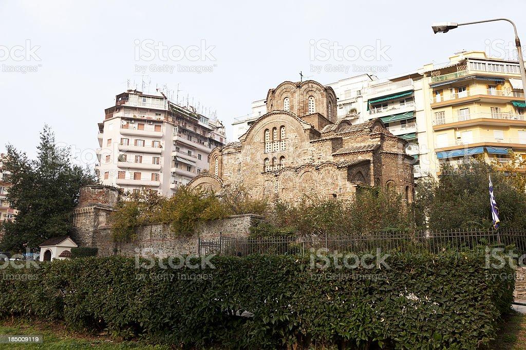 Saint Panteleimon Orthodox Chapel royalty-free stock photo