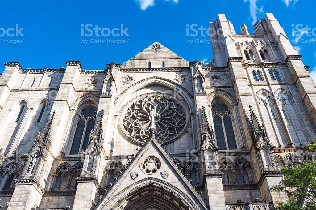 Saint Patrick Cathedral in New York City stock photo