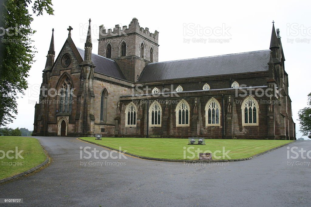 Saint Patrick church royalty-free stock photo