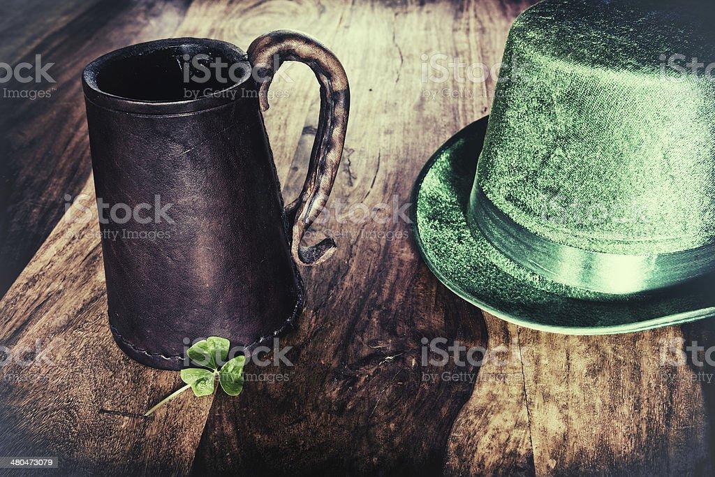 Saint Patrick's Day background stock photo