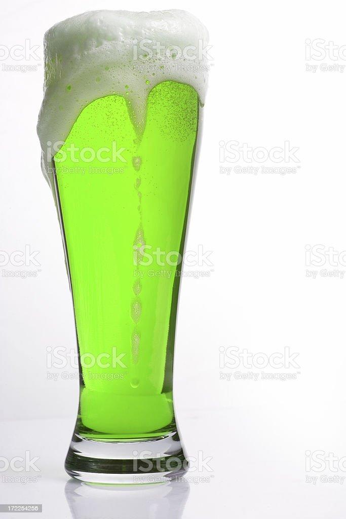 Saint Patrick's Day Green Beer royalty-free stock photo