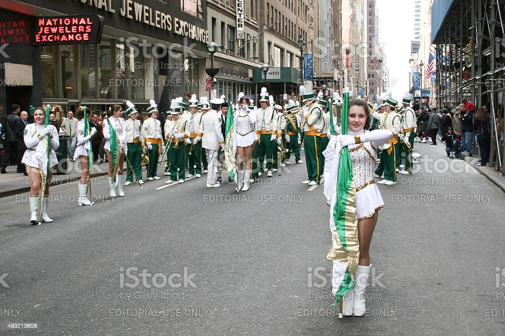 Saint Patricks Day Parade stock photo