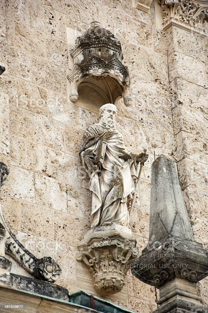 Saint Paul, basilica Assumption of the Virgin Mary stock photo