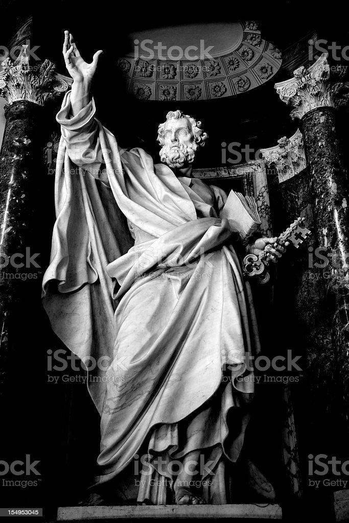 Saint Peter Apostle stock photo
