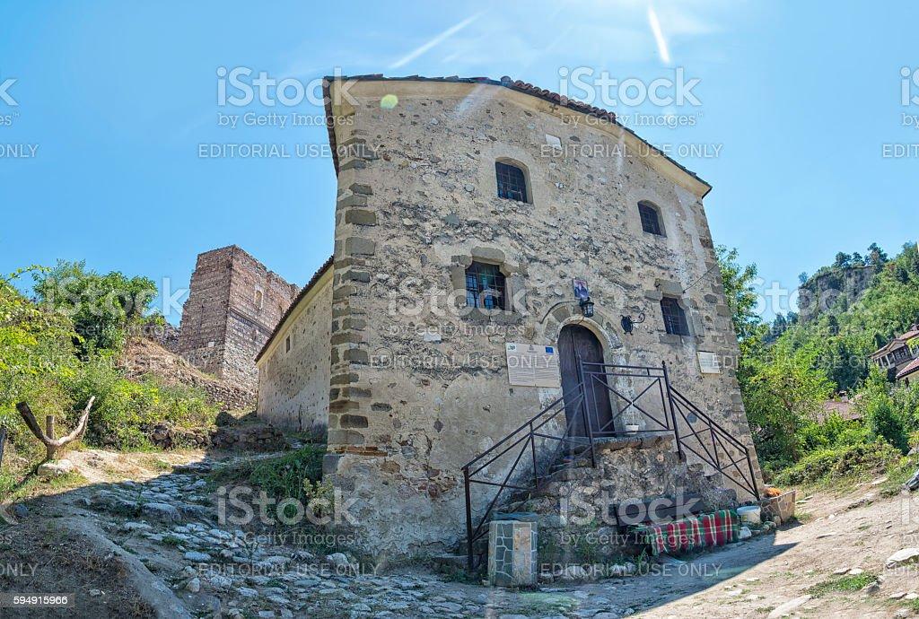Saint Peter church in Melnik. royalty-free stock photo