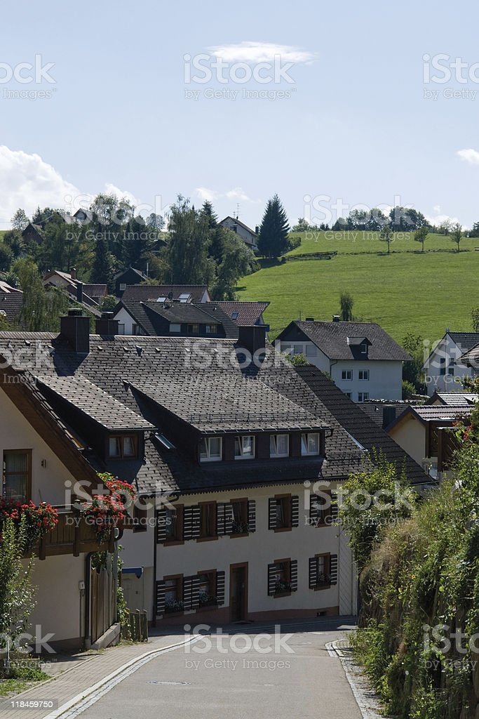 Saint Peter in the Black Forest royalty-free stock photo