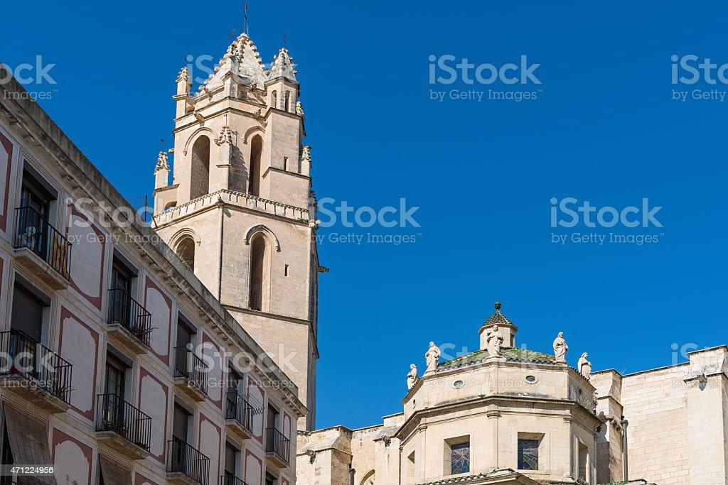 San Pedro de Reus stock photo
