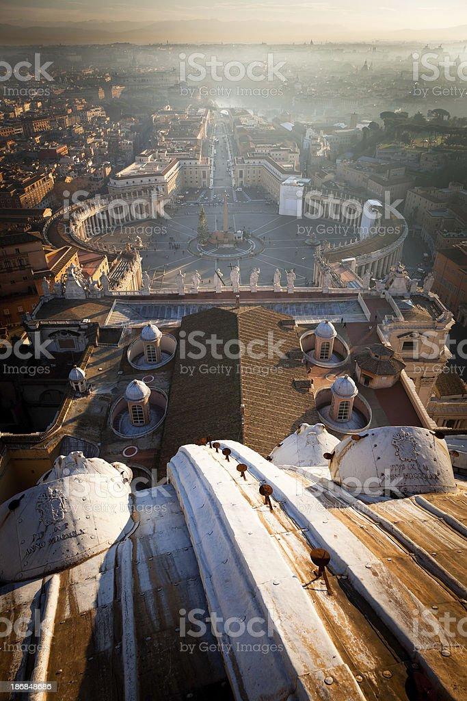 Saint Peter square royalty-free stock photo
