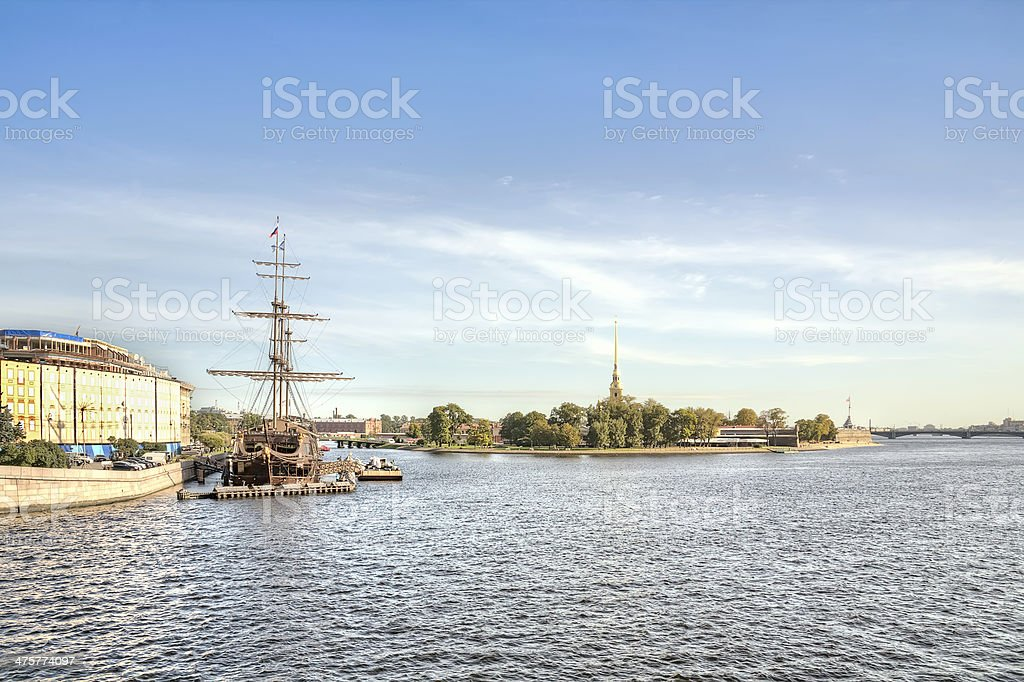 Saint Petersburg. Cityscape royalty-free stock photo