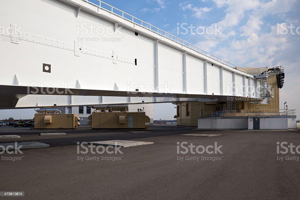 Saint Petersburg Flood Prevention Facility Complex stock photo