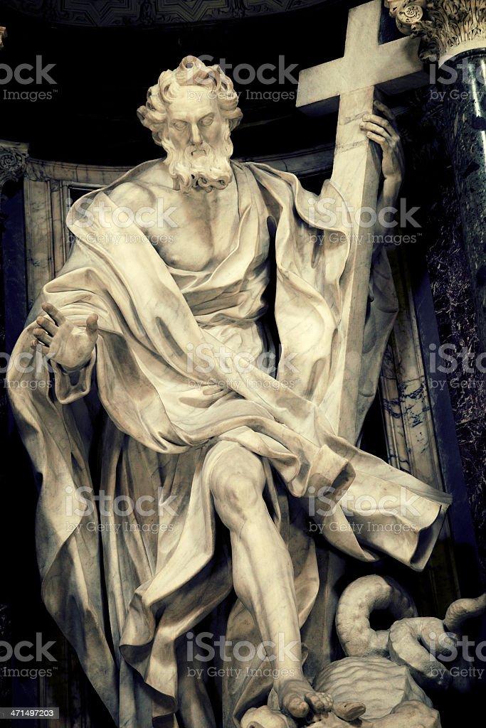 Saint Philip Apostle royalty-free stock photo
