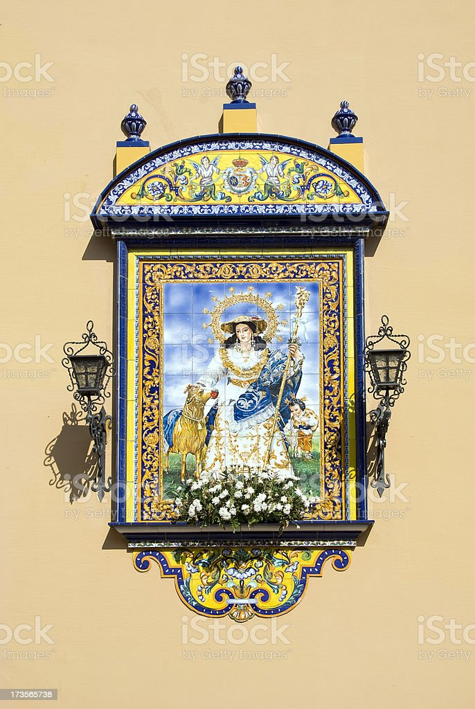 Saint royalty-free stock photo