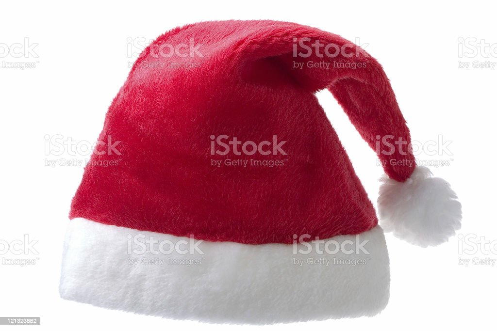 saint red hat stock photo