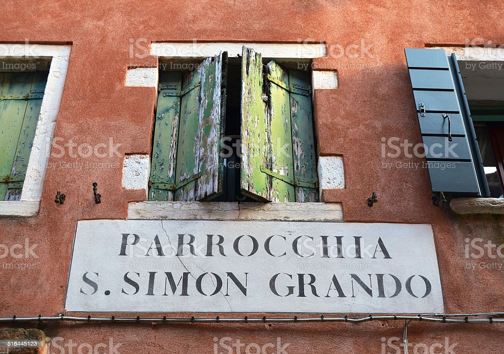 San Simon Grando stock photo