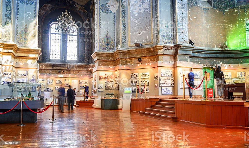 Saint Sofia Cathedral stock photo