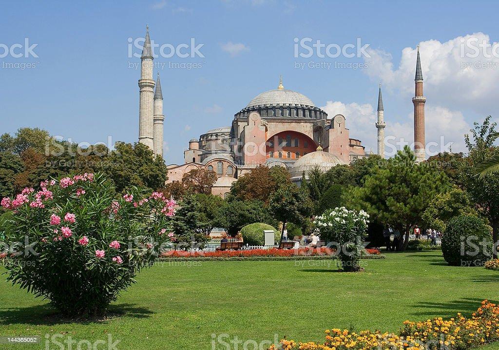 Saint Sophia, Istanbul stock photo