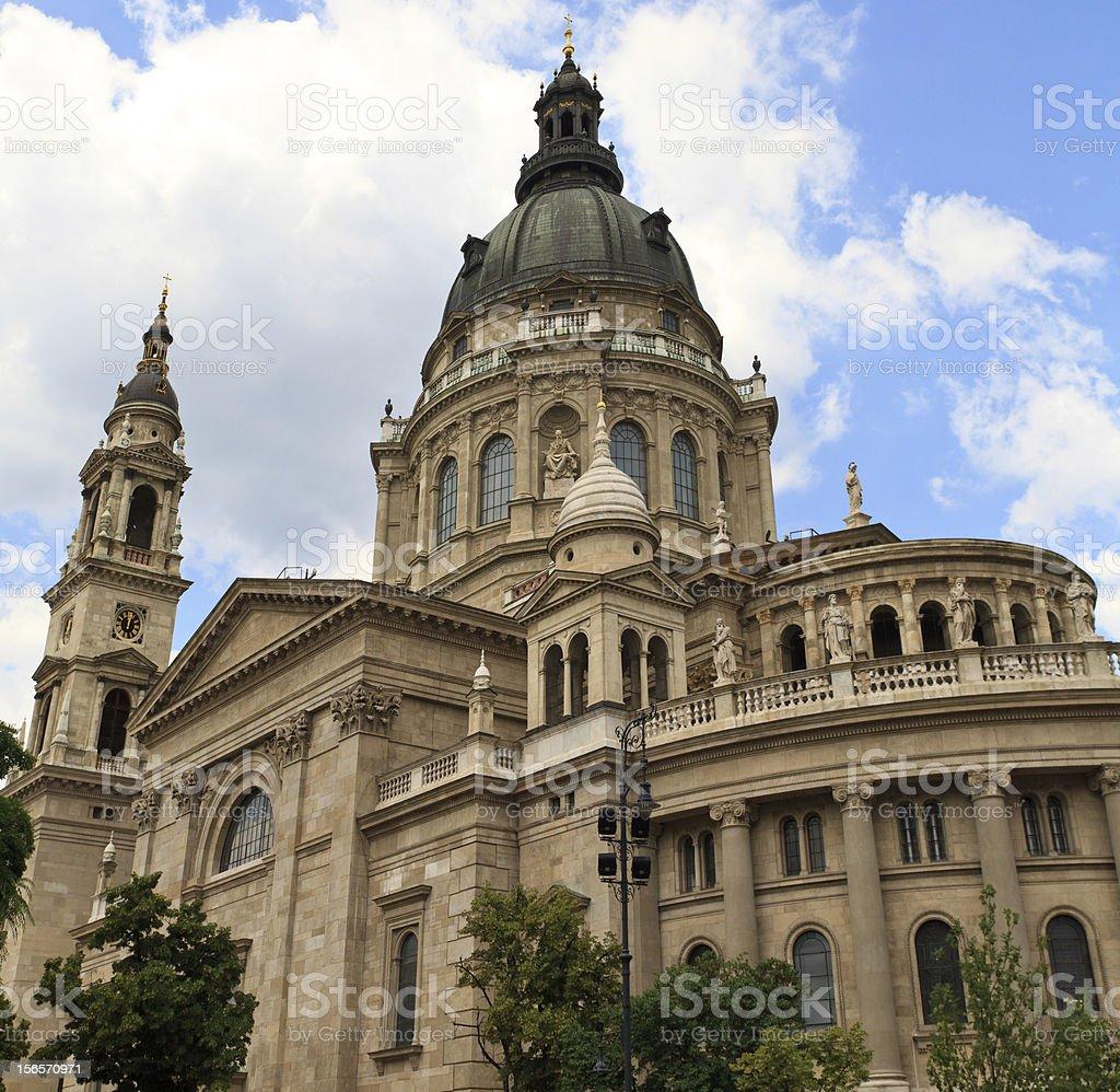 Saint Stephen Cathedral, Budapest, Hungary royalty-free stock photo