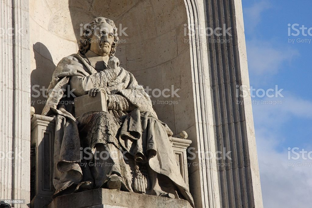 Saint Sulpice stock photo